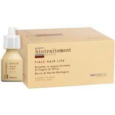 Реструктурирующий лосьон моментального действия Hair Life REPAIR, 12 ампул x 10 мл.