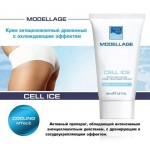 """Крем антицеллюлитный дренажный с охлаждающим эффектом """"Cell Ice"""" 200 мл, Modellage, Beauty Style"""