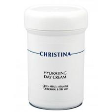 Hydrating Day Cream Green Apple + Vitamin E for normal and dry skin – Увлажняющий дневной крем с витамином Е для нормальной и сухой кожи «Зеленое яблоко», 250 мл