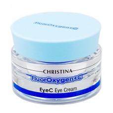 FluorOxygen+C EyeC Eye Cream SPF 15 – Крем для кожи вокруг глаз SPF 15, 30 мл