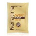 Интенсивный восстанавливающий уход с кератином для поврежденных и хрупких волос 35 гр, KERATINA, Kativa