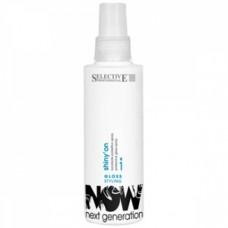 Блеск-спрей защитный для волос Selective, 150 мл