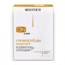 Сыворотка питательная с минералами для сухих и поврежденных волос Selective, 10 шт х 10 мл