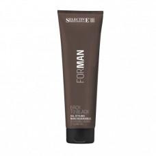Гель для укладки волос со смываемым черным пигментом Selective, 150 мл