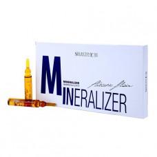 Минеральное масло восстанавливающее для волос Selective, 10 шт х 12 мл